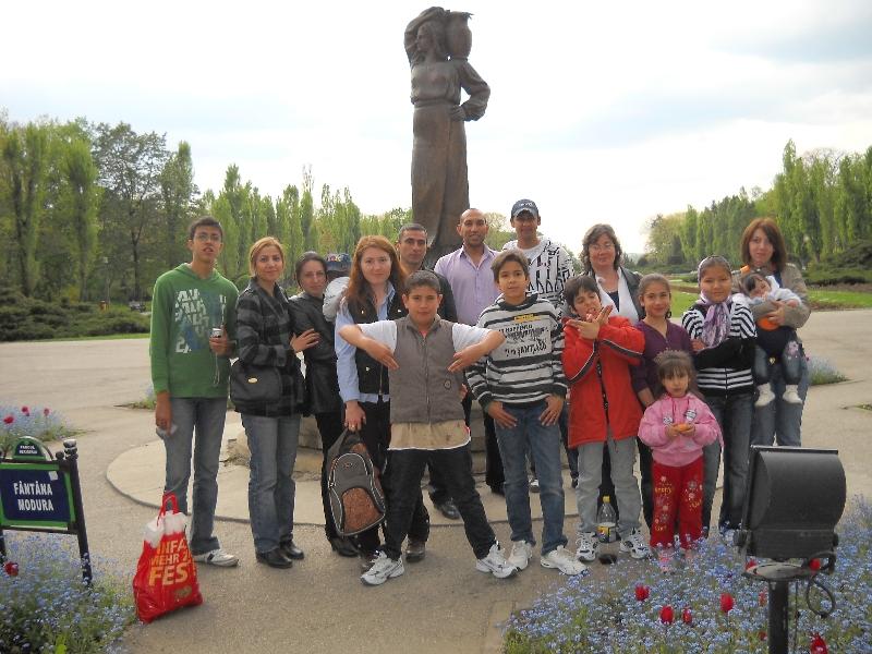 Visit to Herastrau Park