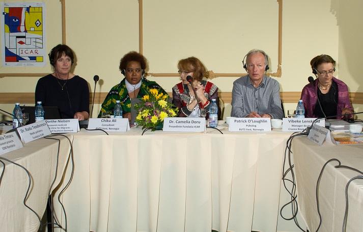 "Dezbatere ""Imigrant in Romania – Resurse si servicii pentru integrare"" - slide 2"