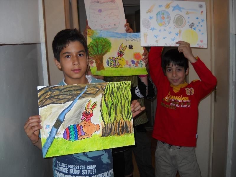 Drawing contest - Easter celebration