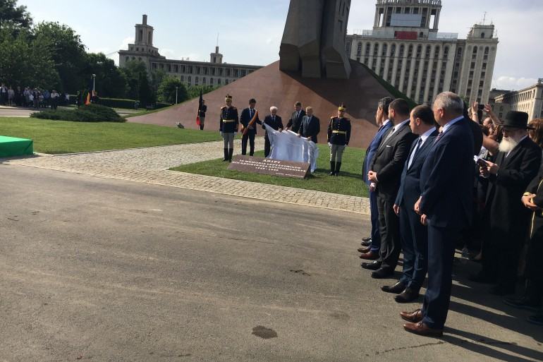 Inaugurare a monumentului Aripi - slide 6