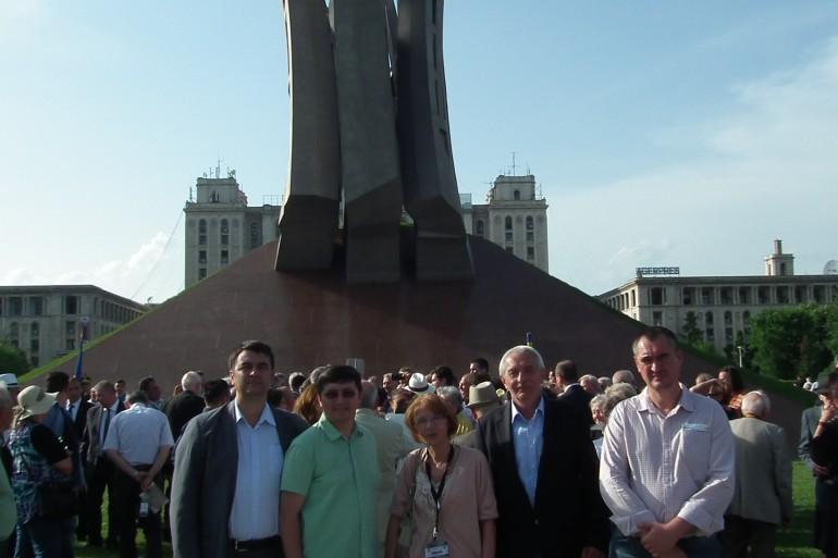 Inaugurare a monumentului Aripi - slide 8