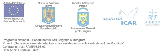 Health services for the improvement of reception and residence conditions for asylum seekers in Romania